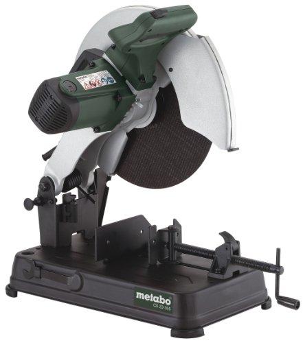 Metabo Metalltrennschleifer CS 23-355 Set (602335850) Karton; mit Trennscheibe Flexiamant Super, Für Schleifscheiben (Ø x Bohrung): 355 x 25.4 mm, Drehmoment: 18 Nm, Leerlaufdrehzahl: 4000 /min